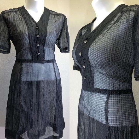 Vintage Dresses 1940s Dress Cocktail Party Plus Size Xxl Poshmark